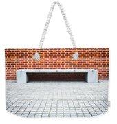 Stone Bench Weekender Tote Bag