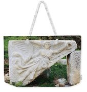 Stone Carving Of Nike Weekender Tote Bag