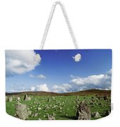Stone Circles On A Landscape, Beaghmore Weekender Tote Bag