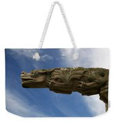 Stone Dragon Weekender Tote Bag