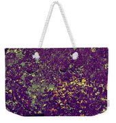 Stone Face At Hossa With Stone Age Paintings Weekender Tote Bag