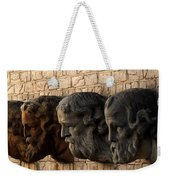 Stone Faces Weekender Tote Bag