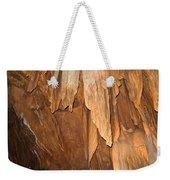 Stone Fold Elegance Weekender Tote Bag