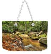 Stone Mountain Stream Weekender Tote Bag