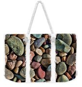 Stone Triptych 3 Weekender Tote Bag