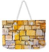 Stone Wall Weekender Tote Bag by Carlos Caetano