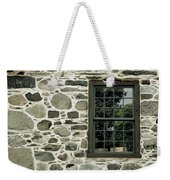 Stone Wall With A Window Weekender Tote Bag