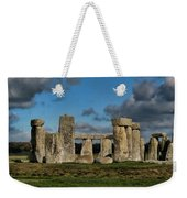 Stonehenge Weekender Tote Bag by Heather Applegate