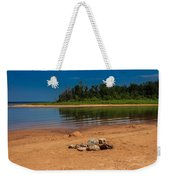 Stones On The Beach Weekender Tote Bag
