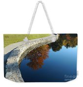 Stonewall And Autumn Reflections Weekender Tote Bag