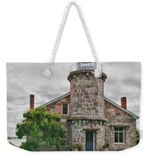 Stonington Lighthouse Museum Weekender Tote Bag
