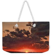 Stony Clouds Weekender Tote Bag