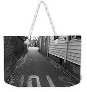 Stop Weekender Tote Bag