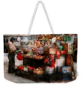 Store - Ny - Chelsea - Fresh Fruit Stand Weekender Tote Bag by Mike Savad