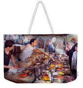 Storefront - The Open Air Tea And Spice Market  Weekender Tote Bag