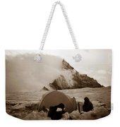Storm Camp Weekender Tote Bag