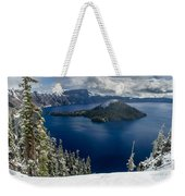 Storm Clearing At Discovery Point Weekender Tote Bag