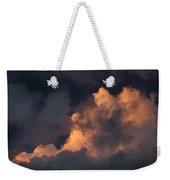 Storm Cloud Highlighted By Sun Weekender Tote Bag