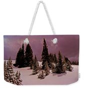 Storm Clouds Over The Monte Cristo Summit Weekender Tote Bag