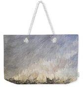 Storm In Life Weekender Tote Bag