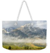 Storm On Grand Teton Weekender Tote Bag