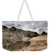 Storm On The Horizon Weekender Tote Bag