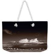 Storm Over Badlands Weekender Tote Bag