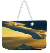 Storm Over Shasta Weekender Tote Bag