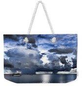 Storm Over The Ocean Weekender Tote Bag