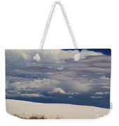 Storm's Contrast With White Sand Weekender Tote Bag
