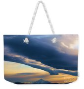 Storms Over Shasta Weekender Tote Bag