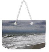 Stormy Day In Surfside Weekender Tote Bag