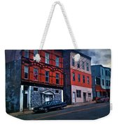 Stormy Monday Weekender Tote Bag