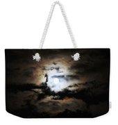 Stormy Moon Weekender Tote Bag