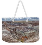 Stormy Morning At Petrified Forest  Weekender Tote Bag