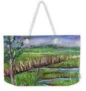 Stormy Wetlands Weekender Tote Bag