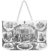 Story Of A Pauper, 1868 Weekender Tote Bag