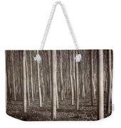 Straight Trees Weekender Tote Bag