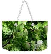 Strand Succulent Weekender Tote Bag