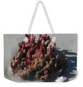 Stranded Coral Weekender Tote Bag