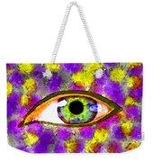 Strange Eye II Weekender Tote Bag