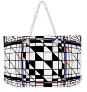 Strapped Abstract  Weekender Tote Bag