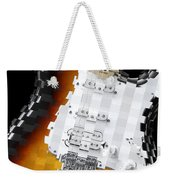 Classic Guitar Abstract 2 Weekender Tote Bag