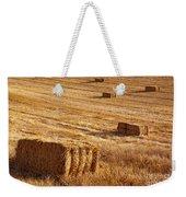 Straw Field Weekender Tote Bag