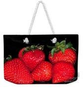 Strawberries Weekender Tote Bag by Paul Ward