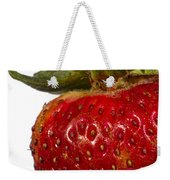 Strawberry Close Up No.0011 Weekender Tote Bag