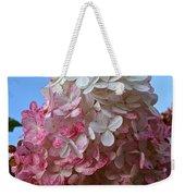 Strawberry Vanilla Hydrangea Weekender Tote Bag