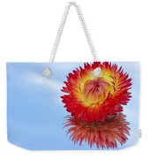 Strawflower Reflection Weekender Tote Bag
