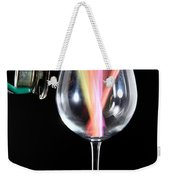 Straws In A Glass At Resonance Weekender Tote Bag