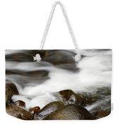 Stream Flowing Over Rocks Weekender Tote Bag